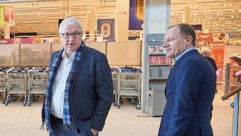 Torbjørn Skei og Bjørn Vik Mo