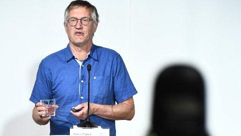 Torsdag varslet Sveriges statsepidemimolog Anders Tegnell ny presseonferanse om koronasituasjonen.