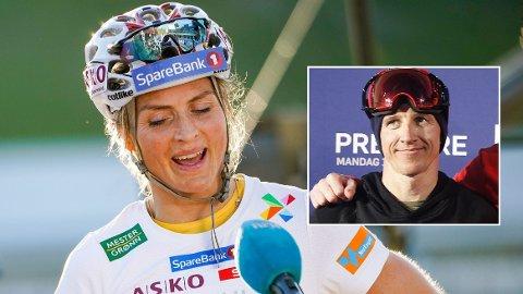 REAGERER: Terje Håkonsen mener å se en «en nitrist passivitet» hos langrennsstjernene, her representert ved Therese Johaug, foran OL i Beijing.