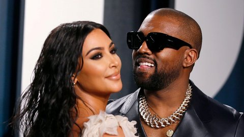 SUPERPAR: Kim Kardashian West og Kanye West var blant de største kjendisparene i verden.