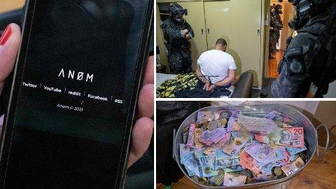 Med hjelp av en kryptert meldingstjeneste, laget for kriminelle, av politiet, ble kriminelle lurt i fella. Denne uken ble flere hundre personer pågrepet over hele kloden.