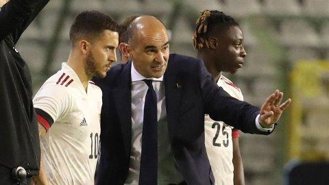 Roberto Martinez har et sterkt lag. Eden Hazard er bare en av stjernene i det belgiske laget.