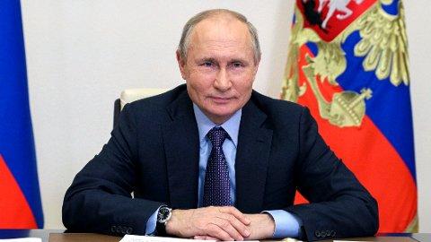 HÅPER: Russlands president Vladimir Putin håper USAs president Joe Biden vil være mindre impulsiv enn det Donald Trump var.