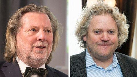RIKE: Odd Reitan (til venstre) og Johan Johansson har tjent seg rikere under koronapandemien.