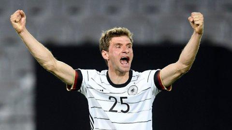 Thomas Müller har vært assist-kongen i Bundesliga de to siste sesongene. Han blir en viktig spiller for tyskerne i EM.