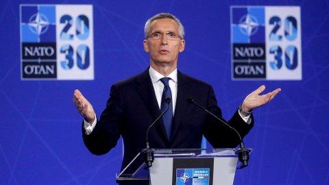 Kina forsøker å få kontroll over infrastruktur i Europa og USA, ifølge Natos generalsekretær Jens Stoltenberg.