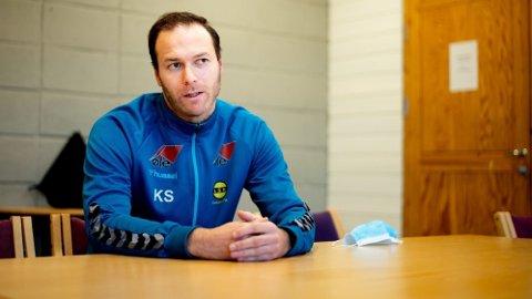 LSK-TRENER: Knut Slatleim tok over ansvaret som hovedtrener for LSK Kvinner i januar og har troen på at laget kan slå tilbake etter den skuffende fjorårssesongen.
