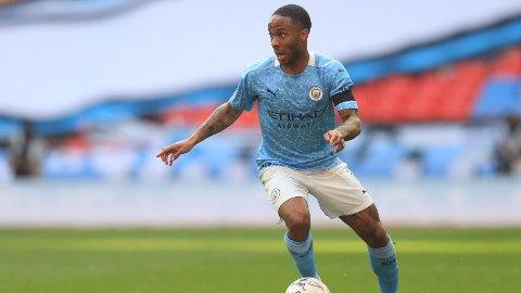 LITE TILLT: Raheem Sterling har fått mindre spilletid for Manchester City denne sesongen.