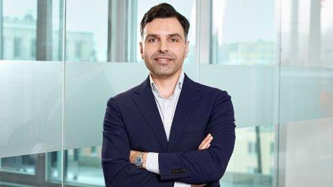DIREKTØR: Mahmoud Musapha er driftsdirektør i Allente, som er navnet på sammenslåtte Canal Digital og Viasat.