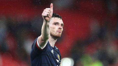 I kveld tror vi at Andrew Robertson blir den første skotske kapteinen som leder Skottland til en åttendedelsfinale i et mesterskap.