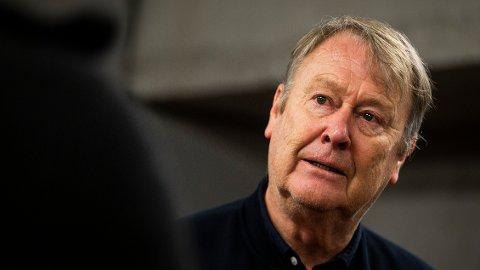KLAR BESKJED: Rosenborg-trener Åge Hareide mener fotball og politikk ikke bør blandes sammen.
