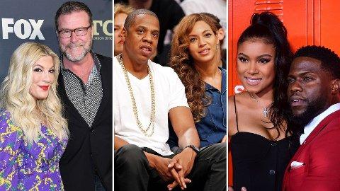 UTROSKAP: Disse kjendisene har alle opplevd utroskap i ekteskapet, men likevel valgt å tilgi partneren sin.