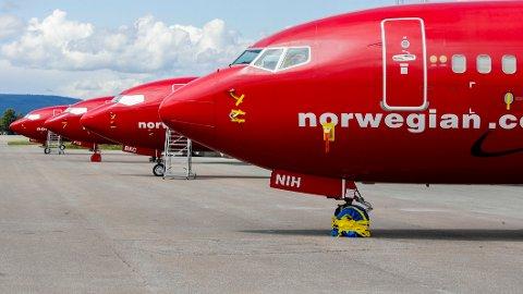 Norwegian kan bli nødt til å måtte punge ut med 400 millioner kroner etter at de ikke har levert klimakvotene sine for 2020, opplyser Miljødirektoratet til E24. Illustrasjonsfoto: Vidar Ruud / NTB
