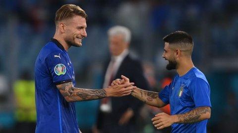 Ciro Immobile og Lorenzo Insigne har begge vært strålende for Italia hittil i EM.