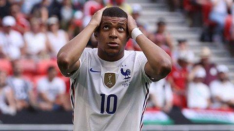 Kylian Mbappe har fortsatt ikke scoret i EM. Kommer den første scoringen mot Sveits?