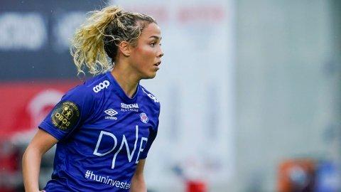 TIL FRANSK FOTBALL? Celin Bizet Ildhusøy har tiltrukket seg interesse fra gigantklubben PSG.