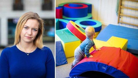 137 MILLIONER: Mathilde Tybring-Gjedde (H) langer ut mot Oslo-byrådets oppkjøp av private barnehager.