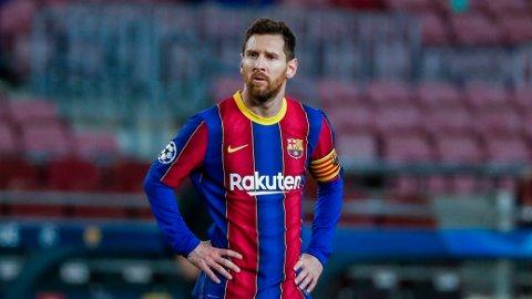 UTEN KONTRAKT: Lionel Messi er for øyeblikket en kontraktløs spiller, og kan gå vederlagsfritt til andre klubber.