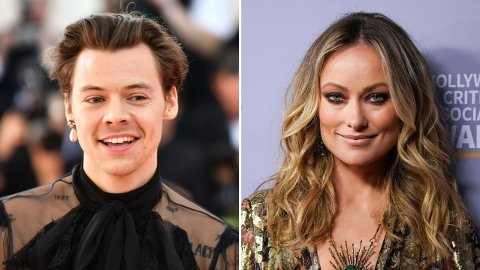 HET FLØRT: Harry Styles og Olivia Wilde har ikke bekreftet at de er et par, men de ser uansett ut til å stortrives i hverandres selskap. Nå er de på ferie sammen i Italia.