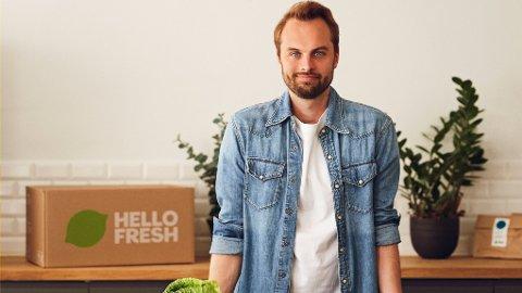 Kristian Hald(Avbildet) er administrerende direktør for Norden i selskapet HelloFresh. Selskapet lanseres i Norge onsdag morgen.