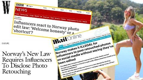 OVERSKRIFTER: Lovendringen i Norge har fått mye oppmerksomhet også over landegrensene.