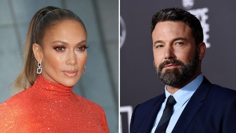 SAMMEN IGJEN: Etter alt å dømme smiler lykken for Jennifer Lopez og Ben Affleck.