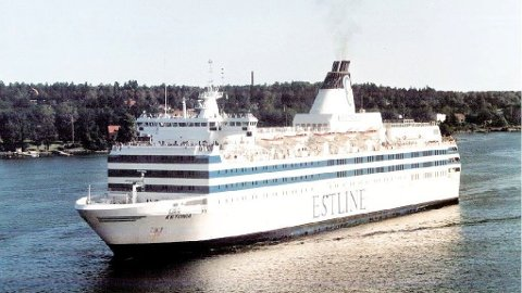 M/S Estonia forliste natt til 28. september i 1994. 852 mennesker mistet livet.