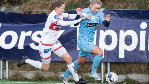 20 år gamle Anna Langås Jøsendal er toppscorer for Avaldsnes hittil denne sesongen på Stemmemyren. Sandviken vant kampen 3-0. Torsdag kveld er Avaldsnes og Jøsendal forholdsvis klare favoritter hjemme mot tabelljumbo Stabæk.
