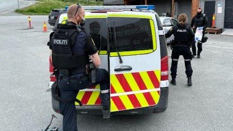 Politiet aksjonerte onsdag ettermiddag både i Tromsø og på Storslett.