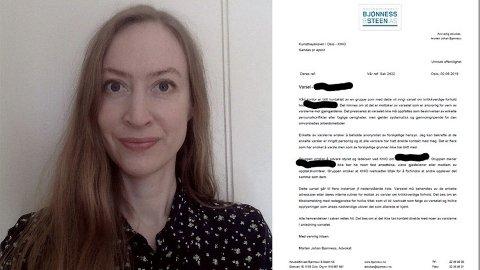 Scenekunstner Katrine Bull Evensen (45) forteller hvordan folk rundt henne lenge forsøkte å varsle om mannen som hun i denne artikkelen forteller at utsatte henne for overgrep. Hun opplever at de ble motarbeidet.