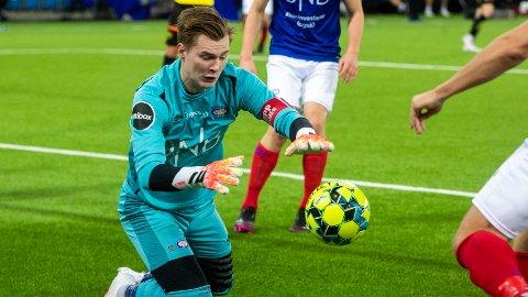 KAN FLYTTE PÅ SEG: Mye tyder på at Kristoffer Klaesson kan være på vei til Premier League og engelsk fotball.