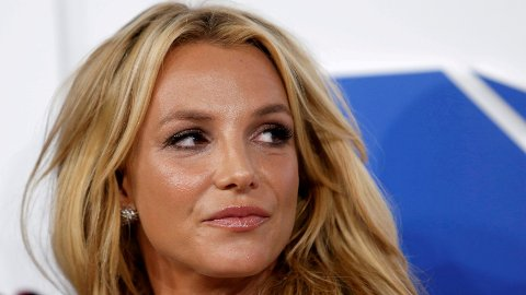 Britney Spears under MTV Video Music Awards i 2016.