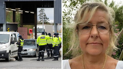 STRENG KONTROLL: Toll og politi passer på grensen til Sverige ved Svinesund. For Lene Magnusson (innfelt foto) bød dette på flere utfordringer da moren hennes i Norge ble alvorlig syk.