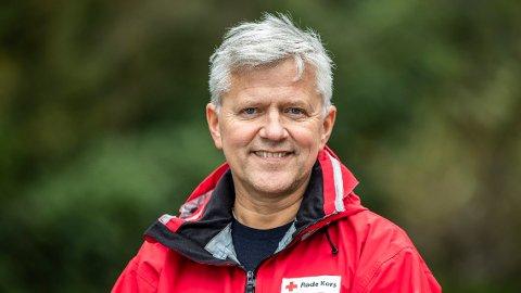 – Når folk skal overnatte her under en pandemi, vil dessverre kapasiteten være begrenset, sier president i Røde Kors, Thor Inge Sveinsvoll.