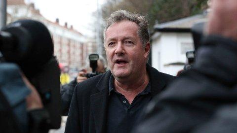 NEKTER: Piers Morgan har ingen plan om å unnskylde uttalelsene sine.
