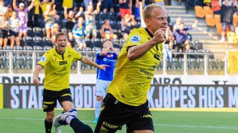 Martin Ramsland scoret to mål for Start i kampen mot Stjørdals/Blink og får plass på rundens lag.