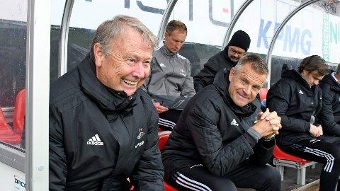 Rosenborgs trener Åge Hareide mønstrer et rutinert mannskap torsdag kveld.