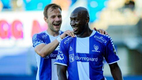 Blir det flere mål å juble for når Ibrahima Koné og resten av Sarpsborg 08 møter Kvik Halden til cupfest?