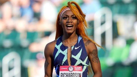 Sha'Carri Richardson mistet OL. Foto: Ashley Landis / AP / NTB