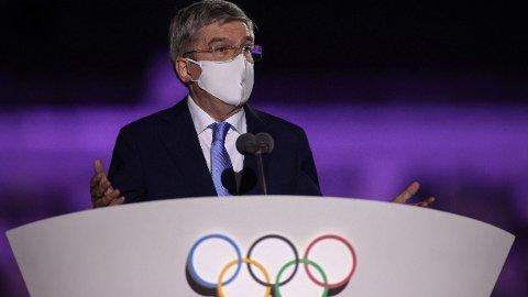 Thomas Bach har fått mye kritikk både i forkant og under OL i Tokyo.