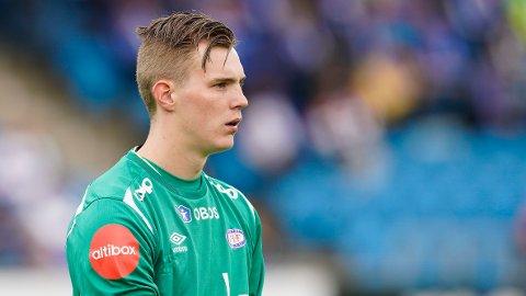 TIL PREMIER LEAGUE: Kristoffer Klaesson er bekreftet klar for Premier League-klubben Leeds.