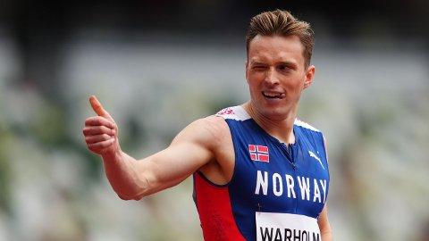 Karsten Warholm kan ta Norges andre gullmedalje i OL i natt.
