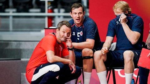 OL-EXIT: Norge røk ut av OL i kvartfinalen mot Danmark tirsdag formiddag.