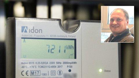 PRISHOPP I VENTE: Lite nedbør i høst kan gi rekordhøye strømpriser mot slutten av året, anslår Tor Reier Lilleholt, analysesjef i i Volue Insight.
