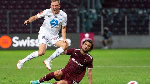 Molde og Fredrik Aursnes spilte en svak bortekamp mot Servette i forrige runde i Conference League-kvaliken. Vi tror de også får problemer i Tyrkia.
