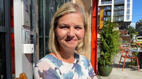 KRISETALL: Venstre-leder Guri Melby har en stor oppgave foran seg i valgkampen med å øke oppslutningen til partiet fram mot stortingsvalget. Hun har likevel ikke mistet troen på en valgseier.