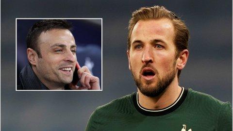FÅR STØTTE: Dimitar Berbatov har erfaring med å presse gjennom en overgang bort fra Tottenham og støtter nå Harry Kane.
