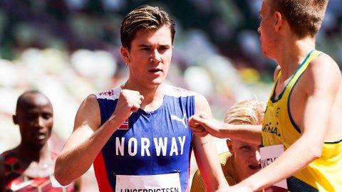 Jakob Ingebrigtsen er klar for en spennende finale på 1500 meter i Tokyo lørdag.