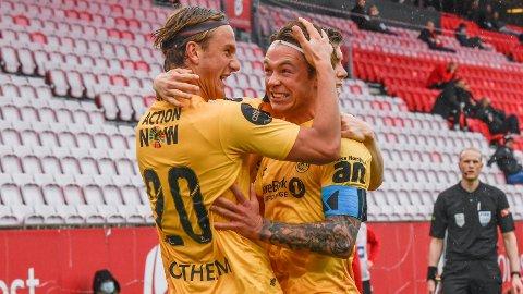Bodø/Glimts Erik Botheim og Patrick Berg må vinne torsdagens returkamp i Conference League-kvaliken om de skal gå videre i turneringen. De ligger under 1-2 etter den første kampen i Kosovo.