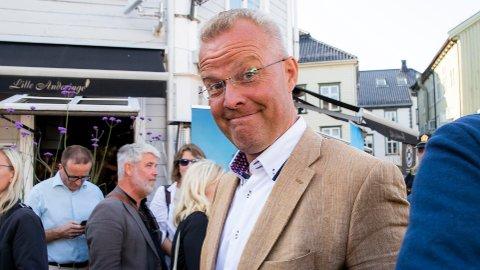 LYSGLIMT: Hans Jørgen Lysglimt Johansen fra Alliansen under Arendalsuka 2019. Foto: Håkon Mosvold Larsen / NTB